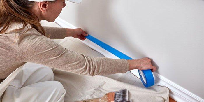 Best painters tape crisp lines textured walls