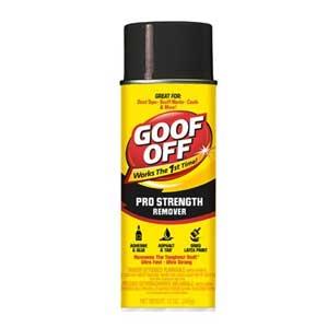 Goof Strength Remover