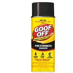 1. Goof Off FG658 Professional Strength Remover