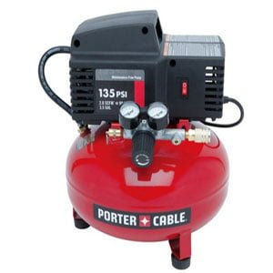 PORTER CABLE Pancake Air Compressor review