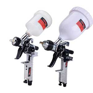 PowRyte 2-Piece HVLP Gravity Feed Air Spray Gun