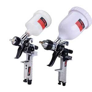 PowRyte HVLP Gravity Feed Air Spray Gun