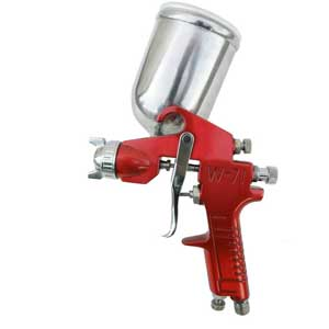 gravity feed spray gun for cabinets