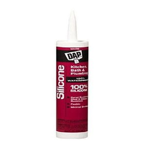 Dap Bathroom Silicone Rubber Caulk