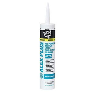 DAP INC Acrylic Latex Caulk for Shower Surround
