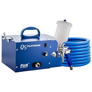 Fuji Platinum Quiet HVLP Spray System