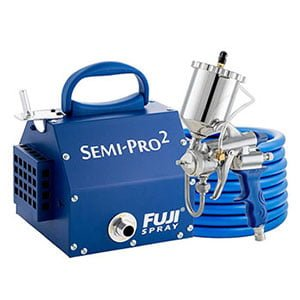 Fuji Semi Gravity HVLP Spray System
