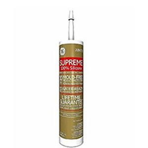 GE Supreme Water-Ready caulk