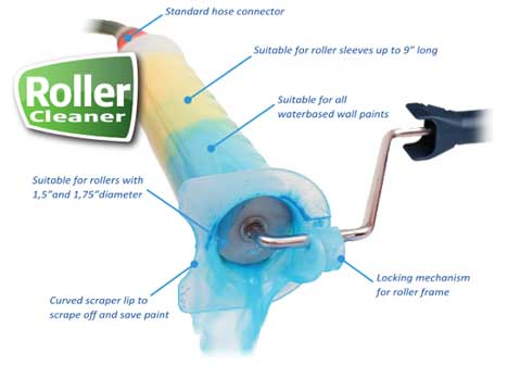paint roller cover cleaner