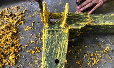 strip paint off wood and furniture