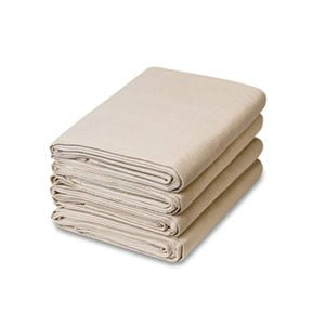 6 Piece Set Canvas Drop Cloth