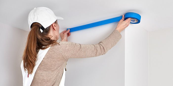 Tips For How To Use Painters Tape
