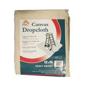 Paint Essentials Canvas Drop Cloth