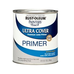Rust-Oleum Touch Quart Latex Primer for Exterior Wood