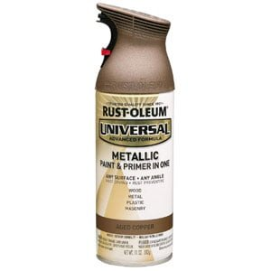 Rust oleum Universal Metallic Spray Paint Reviews