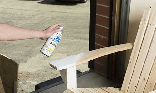 How to Spray Paint Wood Furniture
