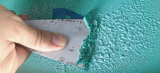 Caustic Paint Removers