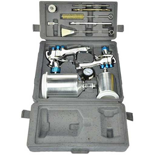 DeVilbiss StartingLine 802342 Spray Gun Kit Review