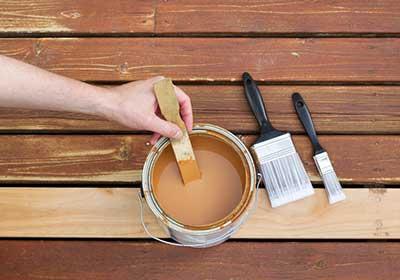 Stir the paint