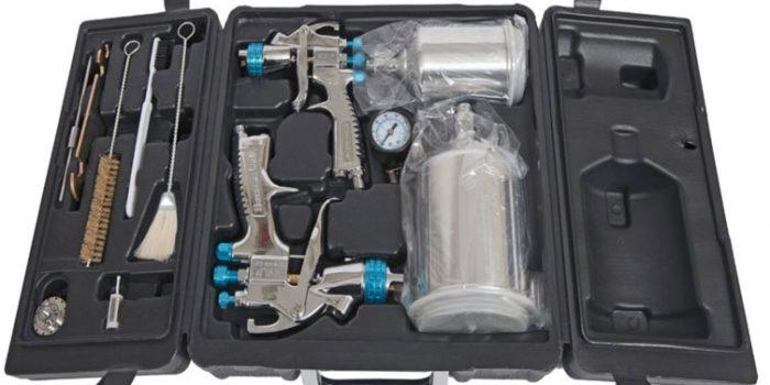 DeVilbiss StartingLine 802342 Spray Gun Kit Review