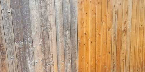 Staining-a-Fence