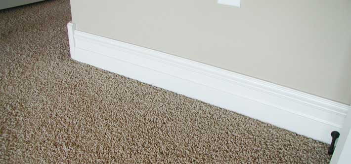 How to Paint Baseboards with Carpet