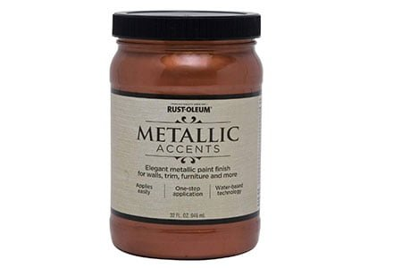 Rust-Oleum 253536 Metallic Accents Paint