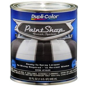 Dupli-Color BSP200 Jet Black Single Paint
