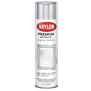 Krylon K01010A07 Metallic Chrome Spray Paint